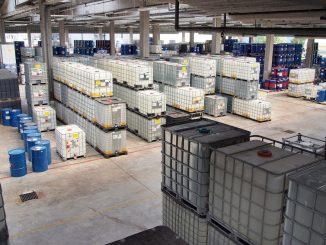 stockage des produits chimiques